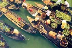 Du Lịch Miền Nam:  Hà Nội - TP HCM - Cần Thơ – Bến Ninh Kiều – Chợ Nổi Cái Răng