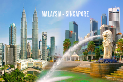 TOUR HÀ NỘI - MALAYSIA - SINGAPORE 6 Ngày - Bay Tiger airway & Malido Airlines