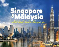 TOUR SINGAPORE – MALACCA – KUALA LUMPUR - GENGTING 6 Ngày - Bay Tiger airway & Malido Airlines