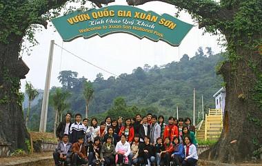 Tour Hà Nội - Vườn Quốc Gia Xuân Sơn - Đảo Ngọc Xanh - 2 Ngày