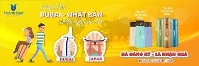 VietSense Tri Ân Khách Hàng - Nhận Ngàn Quà Tặng Khi Đăng Ký Ngay Tour Du Lịch Dubai Và Nhật Bản