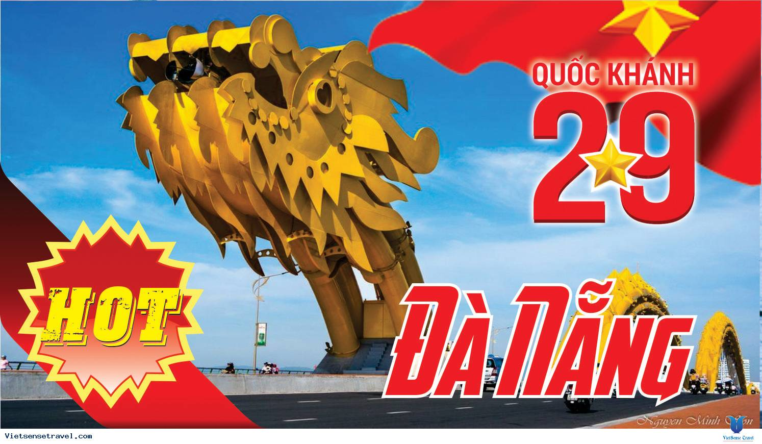 Du Lịch Đà Nẵng 4 Ngày 3 Đêm Quốc Khánh 2-9 từ Hà Nội