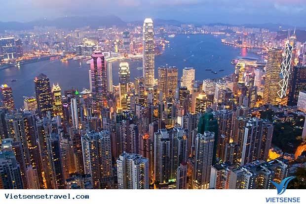 Du Lịch Hồng Kông: TP.HCM HongKong Tòa nhà Sky 100 ( 5 Ngày 4 Đêm )