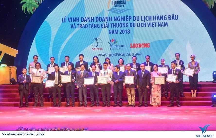 Giải thưởng Du lịch Việt Nam 2018, VietSense Travel được vinh danh - Ảnh 2