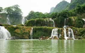 Thác Bản Giốc vẻ đẹp hùng vĩ một niềm tự hào của thiên nhiên Việt Nam,thac ban gioc ve dep hung vi mot niem tu hao cua thien nhien viet nam
